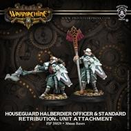 Warmachine: Retribution Of Scyrah Of Scyrah Houseguard Halberdiers Unit (10) (plastic) Box Front