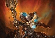 Warmachine: Convergence Of Cyriss Algorithmic Dispersion Optifex Solo (white Metal) Box Front