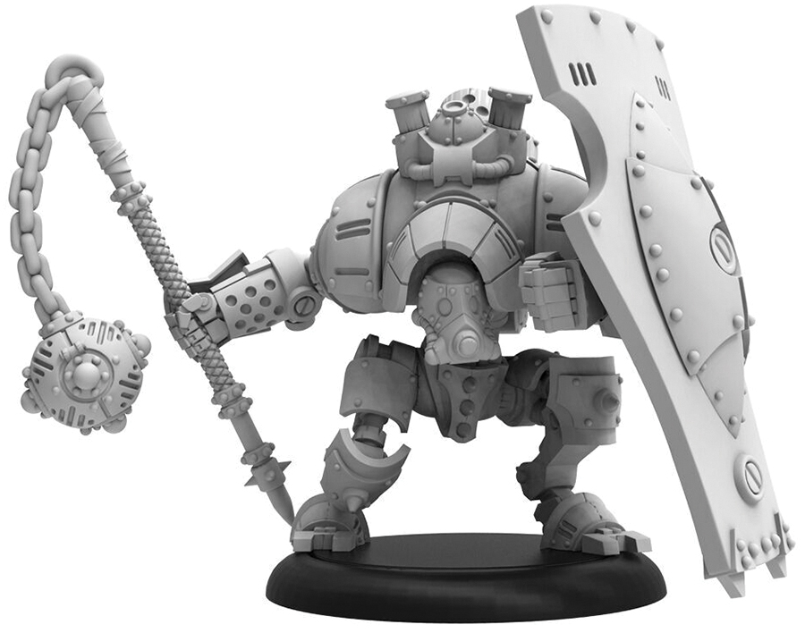 Warmachine: Golden Crucible Liberator Light Warjack (resin And White Metal) Box Front