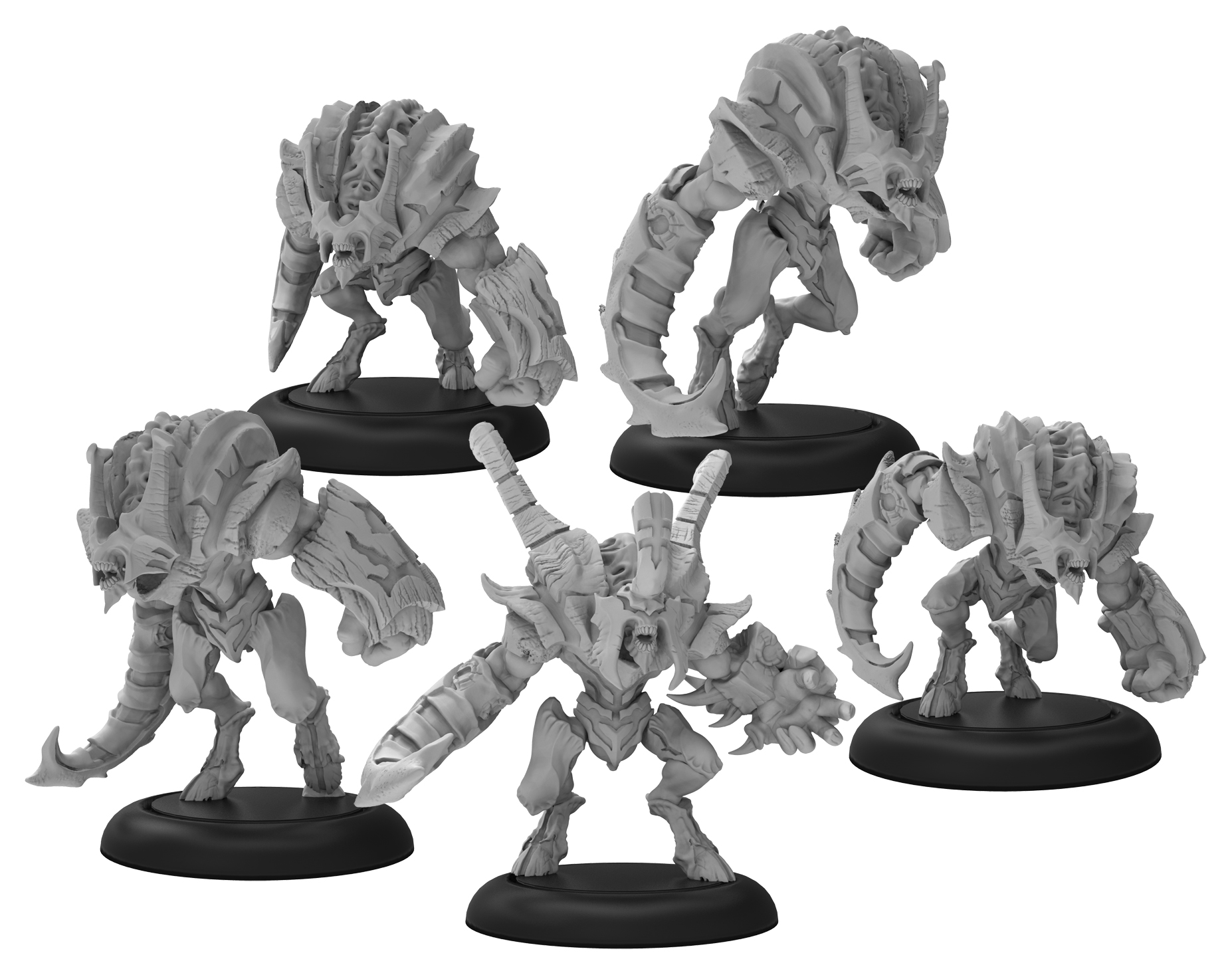 Warmachine: Infernals Howlers Unit (resin And White Metal)