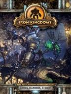 Iron Kingdoms Full Metal Fantasy Rpg: Kings, Nations, And Gods (hardcover) Box Front