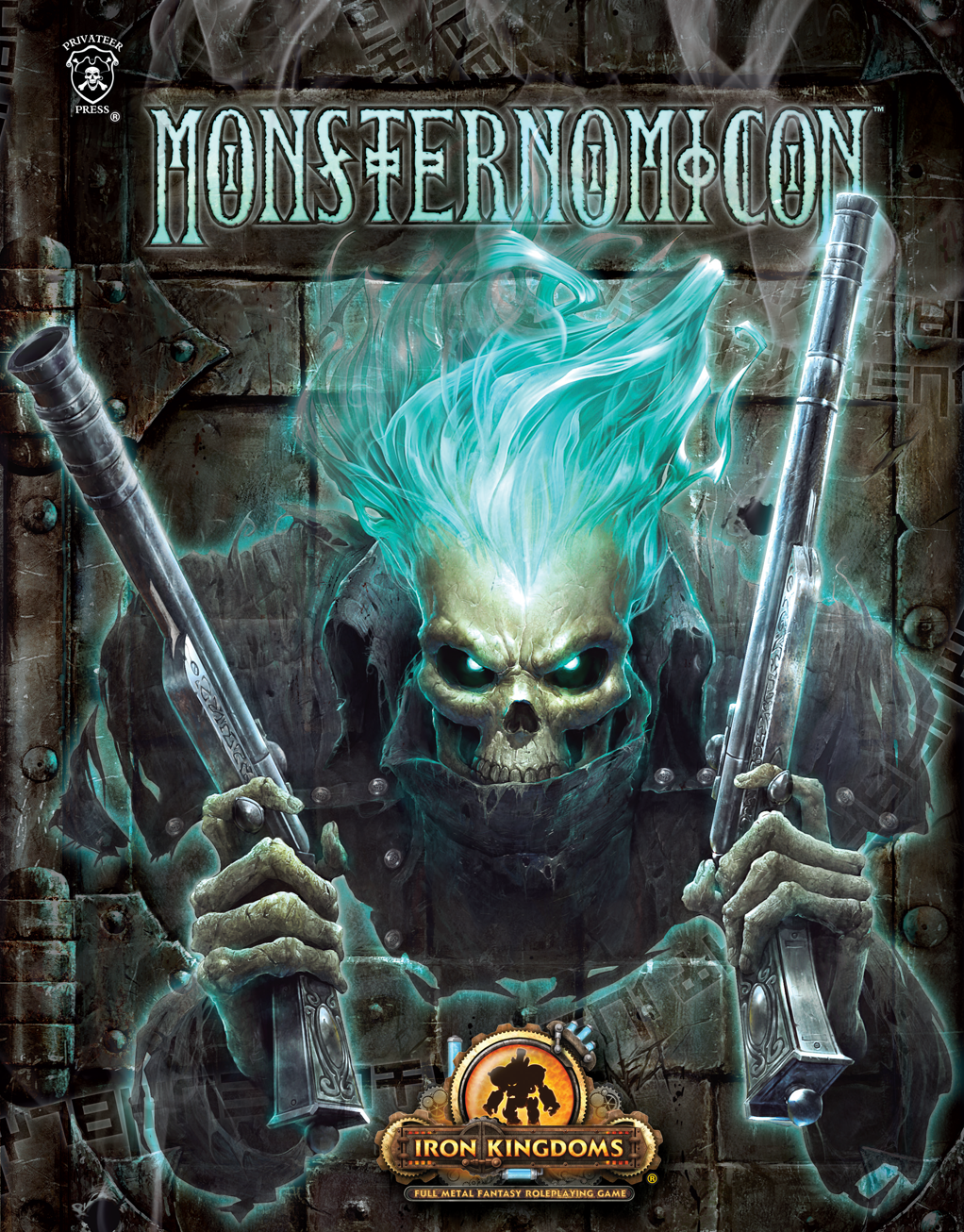 Iron Kingdoms Full Metal Fantasy Rpg: Monsternomicon (softcover) Box Front