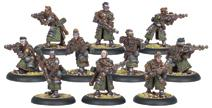 Warmachine: Mercenaries Steelhead Riflemen Unit (white Metal) Box Front