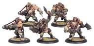 Warmachine: Mercenaries Ogrun Assault Corps Rhulic Unit (white Metal) Box Front