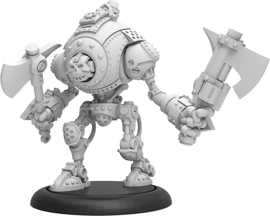 Warmachine: Mercenaries Scallywag Privateer Light Warjack (resin And White Metal) Game Box