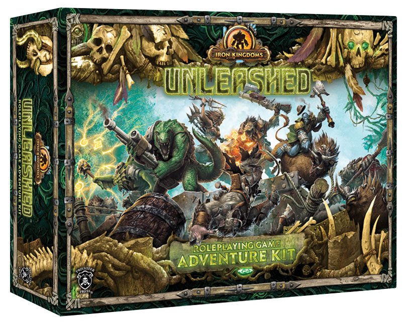 Iron Kingdoms Full Metal Fantasy Rpg: Adventure Kit Box Front
