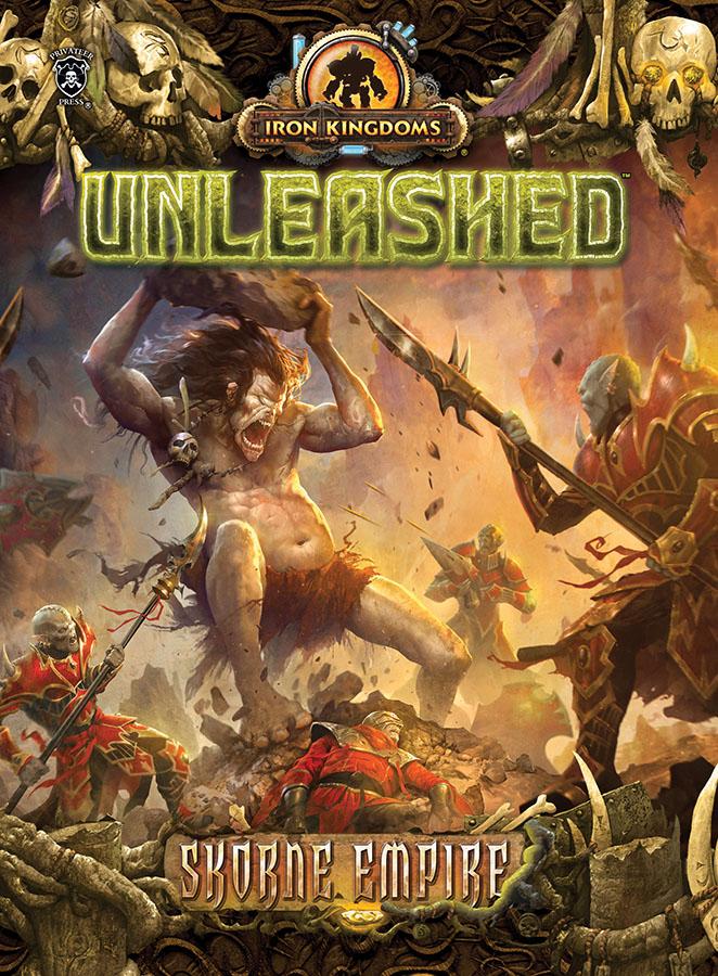 Iron Kingdoms Full Metal Fantasy Rpg: Unleashed - Skorne Empire Box Front