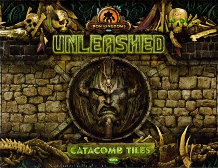 Iron Kingdoms Full Metal Fantasy Rpg: Unleashed - Catacomb Tiles
