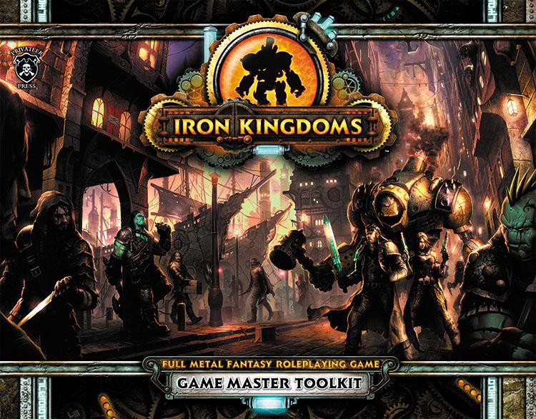 Iron Kingdoms Full Metal Fantasy Rpg: Unleashed - Gm Toolkit Box Front