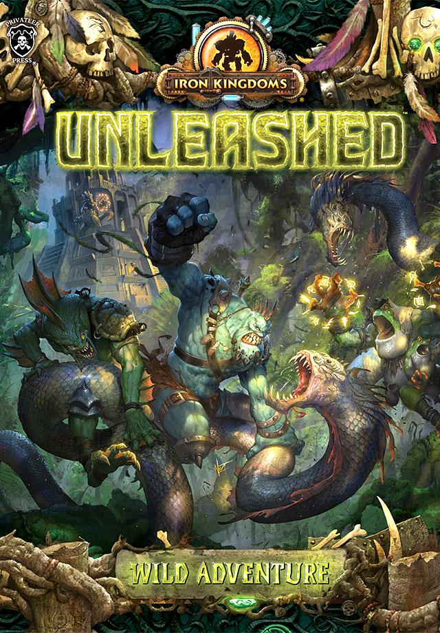 Iron Kingdoms Full Metal Fantasy Rpg: Unleashed - Wild Adventure Box Front
