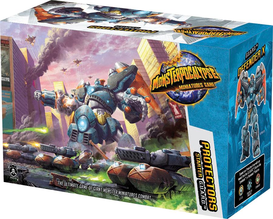 Monsterpocalypse: Protectors Starter Box Front
