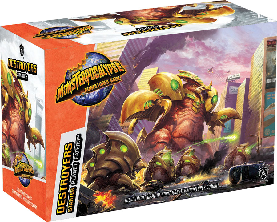 Monsterpocalypse: Destroyers Starter Box Front