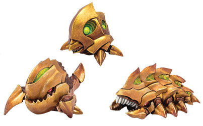 Monsterpocalypse: Planet Eaters Chompers, Destructomite & Explodohawk Unit (resin) Game Box