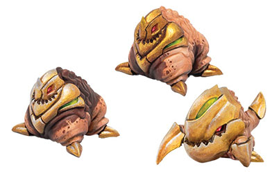 Monsterpocalypse: Planet Eaters Belchers & Crawlers Unit (resin) Game Box