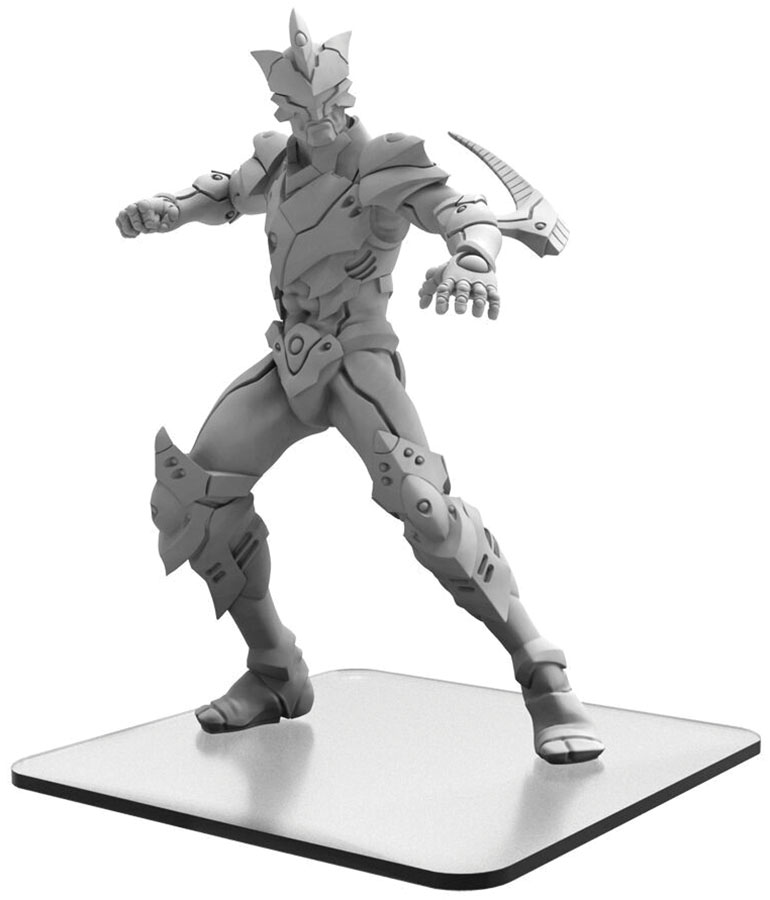 Monsterpocalypse: Shadow Sun Syndicate Zor-maxim Monster (resin And White Metal) Game Box