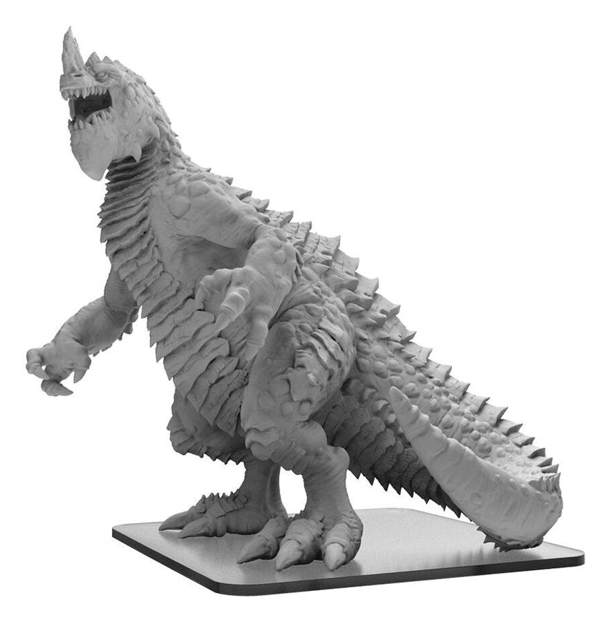 Monsterpocalypse: Terrasaur Terra Khan Monster (resin) Game Box