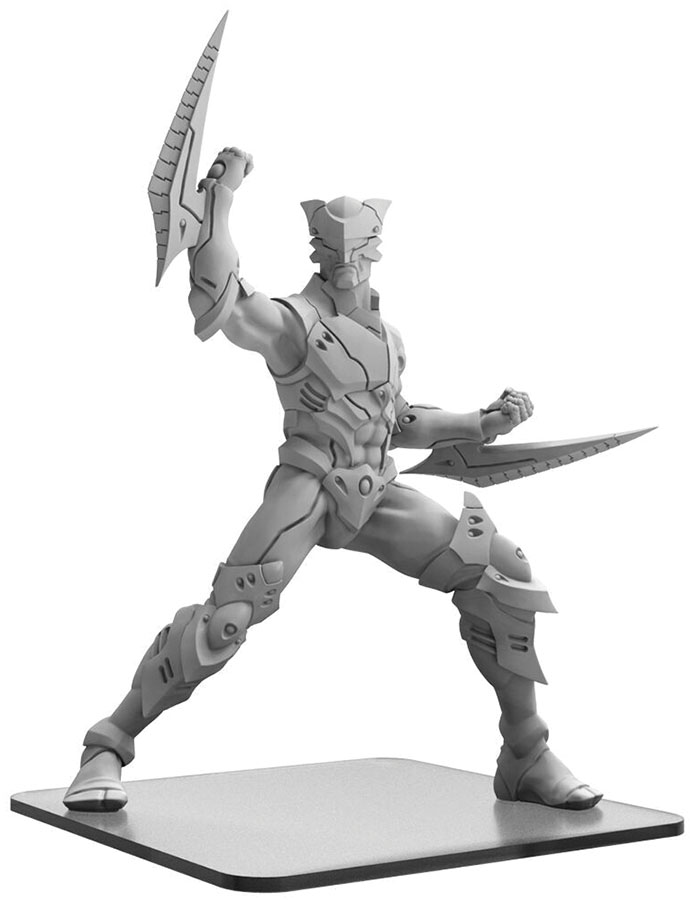Monsterpocalypse: Shadow Sun Syndicate Zor-raiden Monster (resin And White Metal) Game Box