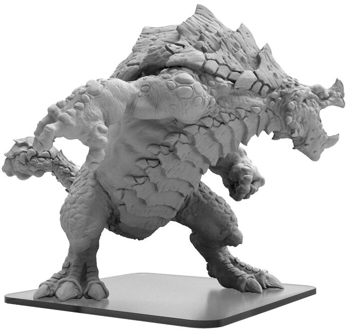 Monsterpocalypse: Terrasaurs Armodax Monster (resin) Game Box