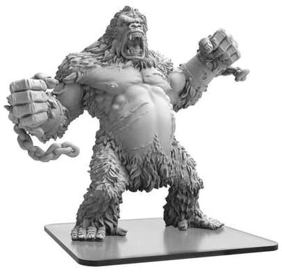 Monsterpocalypse: Empire Of The Apes King Kondo Monster (resin And White Metal) Game Box