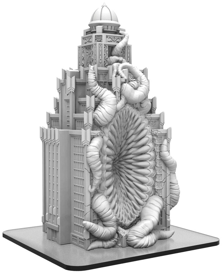 Monsterpocalypse: Void Gate Building (resin) Game Box