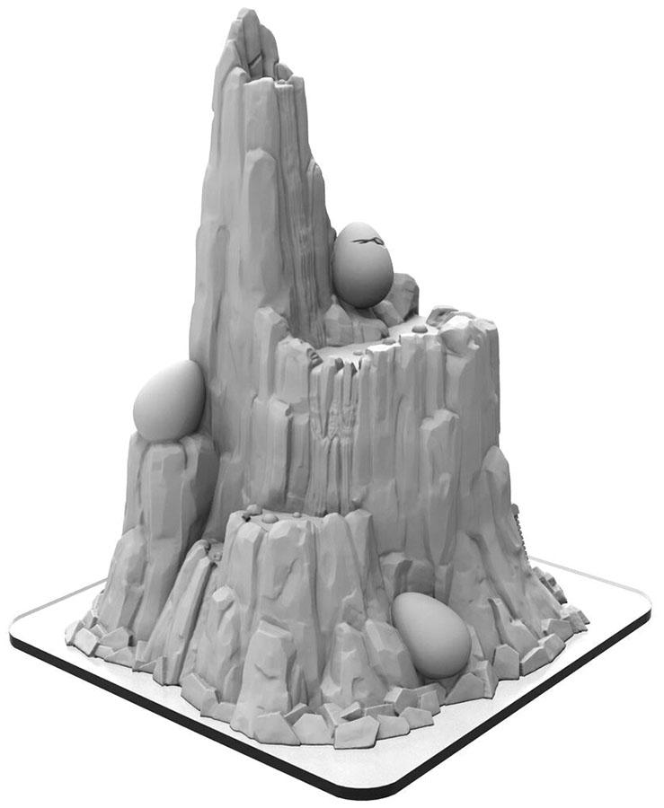Monsterpocalypse: Mount Terra (resin) Game Box