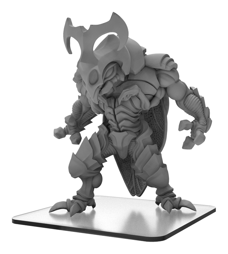 Monsterpocalypse: Xixorax Savage Swarm Monster (resin And White Metal)