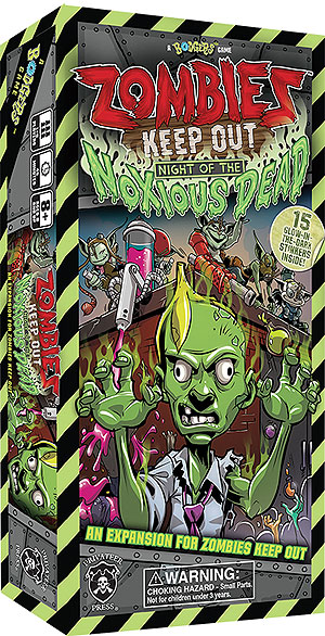 Zombies Keep Out: Night Of The Noxious Dead Expansion Box Front