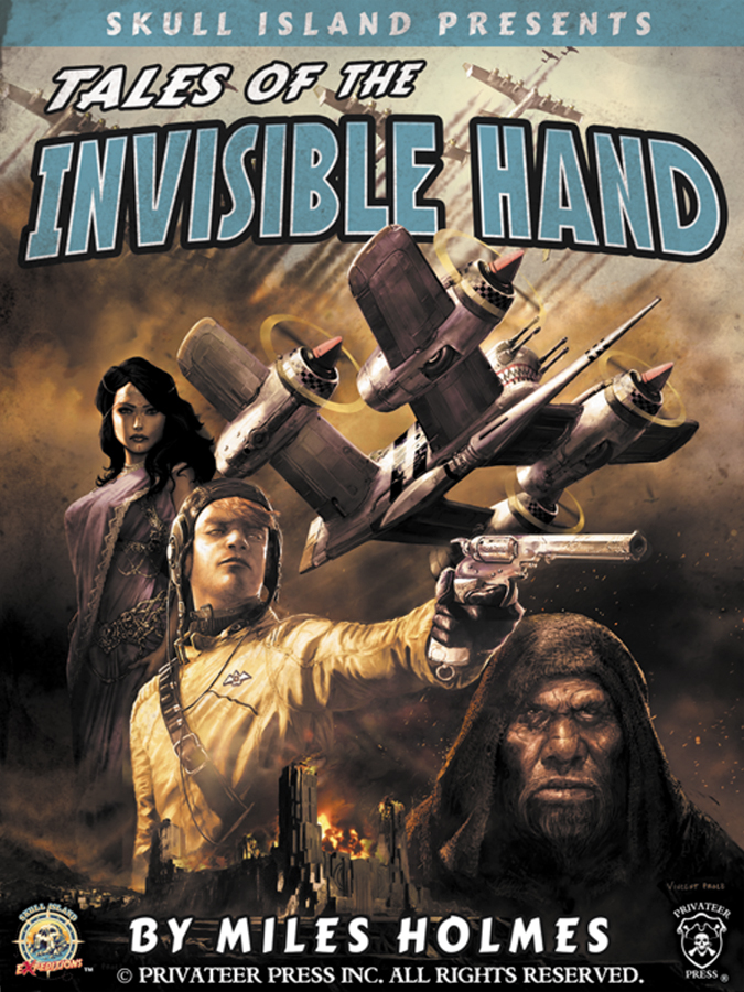 Skull Island Expeditions: Tales Of The Invisible Hand Box Front