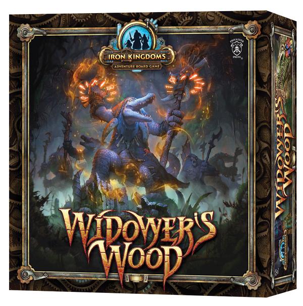 Iron Kingdoms Adventure: Widower`s Wood Box Front