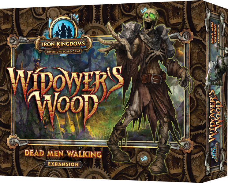 Iron Kingdoms Adventure: Widower`s Wood Dead Men Walking Box Front