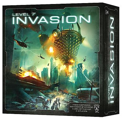 Level 7 [invasion] Box Front