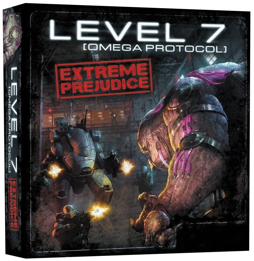 Level 7 (omega Protocol) Extreme Prejudice Expansion Box Front