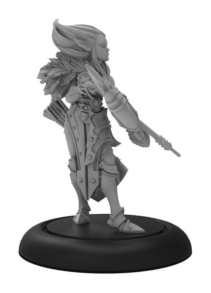 Riot Quest: Scythe Gunner (white Metal)