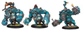Hordes: Trollblood Dire Troll Blitzer/bomber/mauler Heavy Warbeast (plastic Kit) Box Front