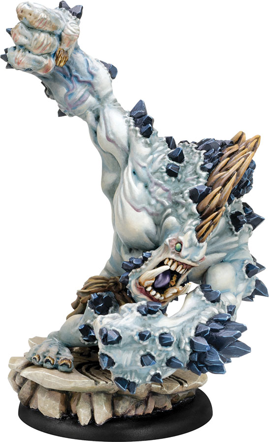 Hordes: Trollblood Extreme Dire Troll Mauler Heavy Warbeast (resin And White Metal) Box Front