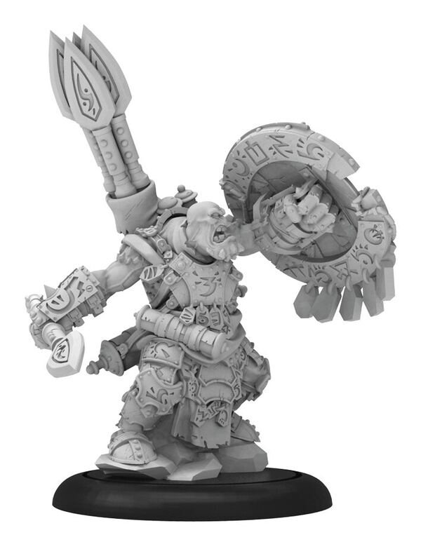 Hordes: Trollblood Madrak, Great Chieftan Warlock (resin And White Metal) Box Front