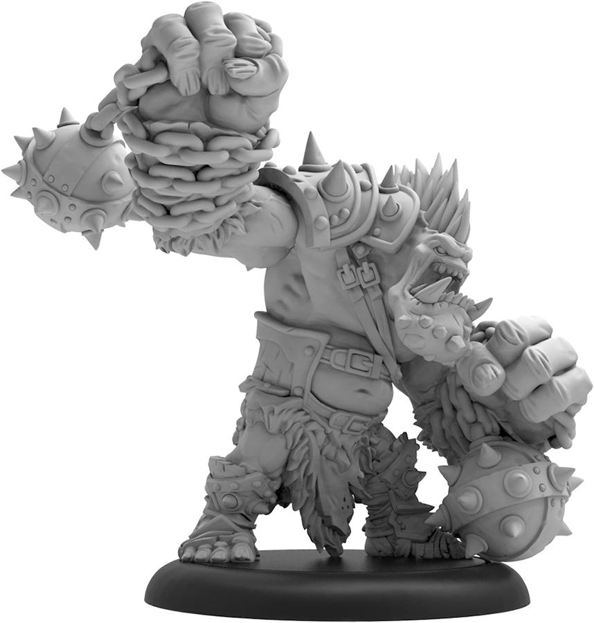 Hordes: Trollblood Dire Troll Brawler Heavy Warbeast (resin) Box Front