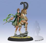 Hordes: Circle Orboros Morvahna The Dawnshadow Light Cavalry Epic Warlock (white Metal) Box Front