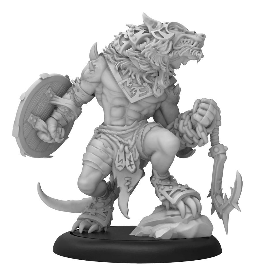 Hordes: Circle Orboros Loki Warbeast (resin And White Metal) Box Front