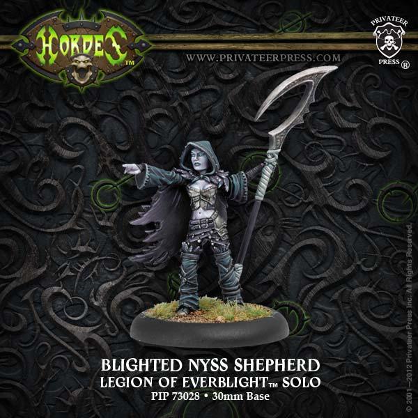 Hordes: Legion Of Everblight Shepherd Solo (white Metal) Box Front
