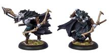 Hordes: Legion Of Everblight Blighted Nyss Strider Officer And Musician Unit Attachment (white Metal) Box Front