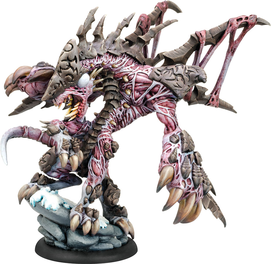 Hordes: Legion Of Everblight Extreme Carnivean Heavy Warbeast (resin And White Metal) Box Front