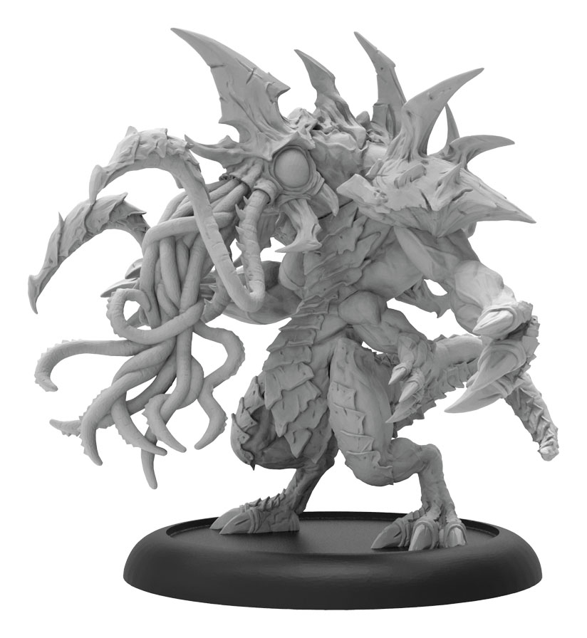 Hordes: Legion Of Everblight Proteus Character Heavy Warbeast (resin And White Metal Resculpt) Box Front
