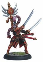 Hordes: Skorne Archdomina Makeda Warlock (white Metal) Box Front