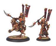Hordes: Skorne Tyrant Rhadeim Dragoon Character Solo (white Metal) Box Front