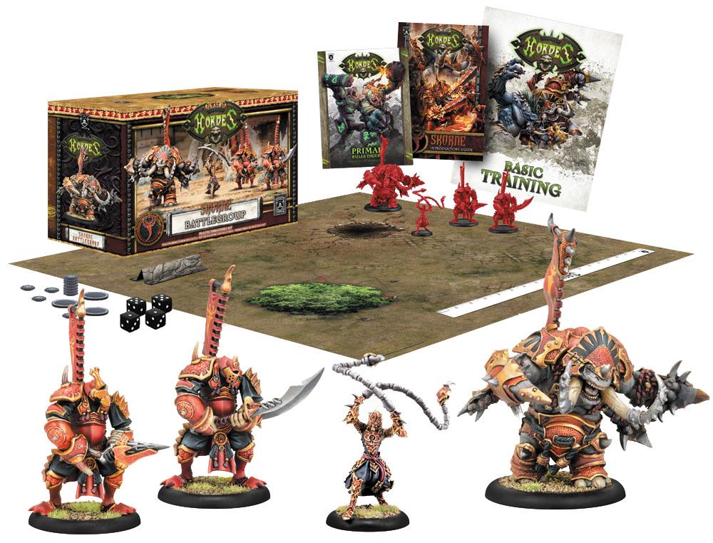 Hordes: Skorne Battlegroup (plastic) Box Front