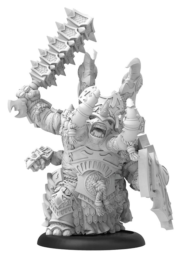 Hordes: Skorne Tiberion Titan Heavy Warbeast (resin And White Metal Resculpt) Box Front