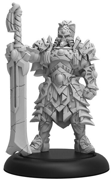 Hordes: Skorne Abidan The Keeper Character Solo (resin And White Metal) Game Box
