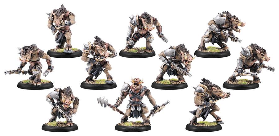 Hordes: Minionsfarrow Brigands/farrow Commandos Unit (plastic) Box Front