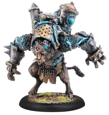 Hordes: Minions Battle Boar Farrow Light Warbeast (plastic) Box Front